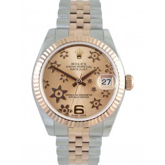 Rolex Lady Datejust 31mm Pink/Arab 6 Jubilee 178271