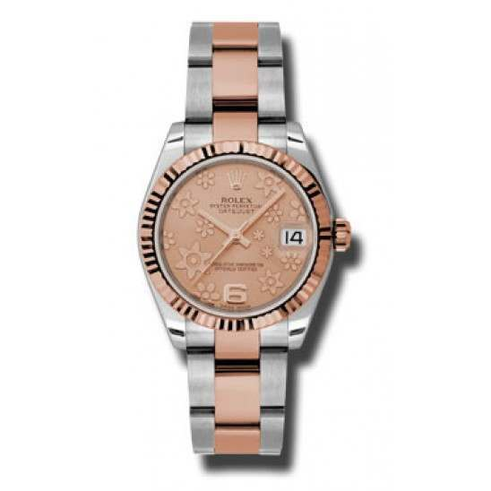 Rolex Lady Datejust 31mm Pink/Arab 6 Oyster 178271