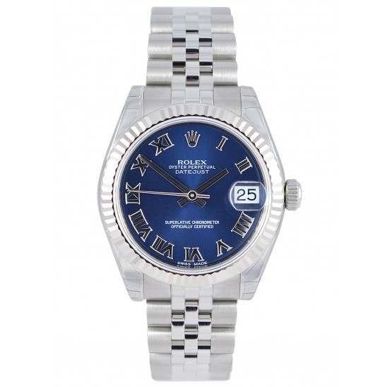 Rolex Lady Datejust 31mm Blue Roman Jubilee 178274