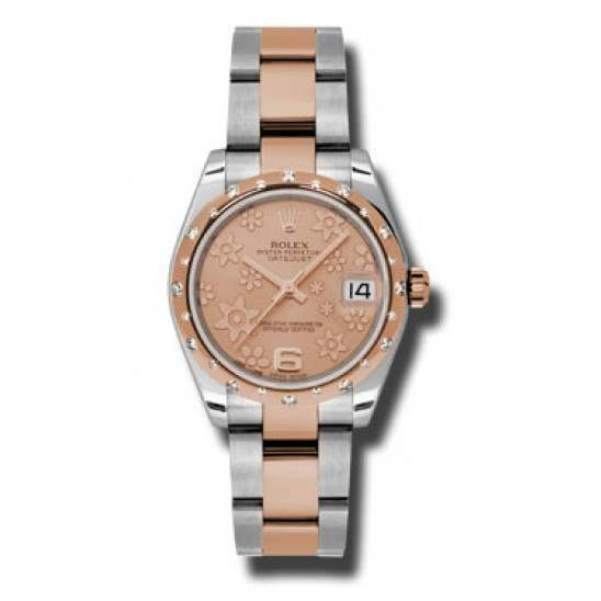 Rolex Lady Datejust 31mm Pink/Arab 6 Oyster 178341