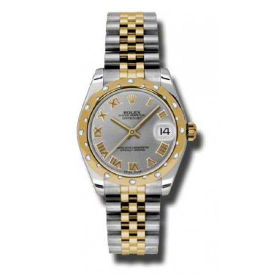 Rolex Lady Datejust 31mm Steel Roman Jubilee 178343