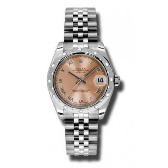 Rolex Lady Datejust 31mm Pink Roman Jubilee 178344