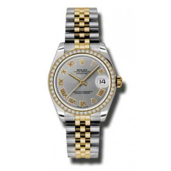 Rolex Lady Datejust 31mm Steel Roman Jubilee 178383