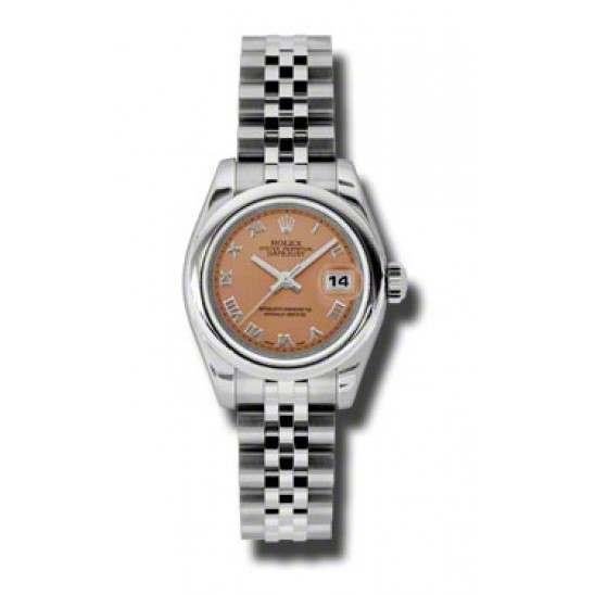 Rolex Lady-Datejust Pink Roman Jubilee 179160