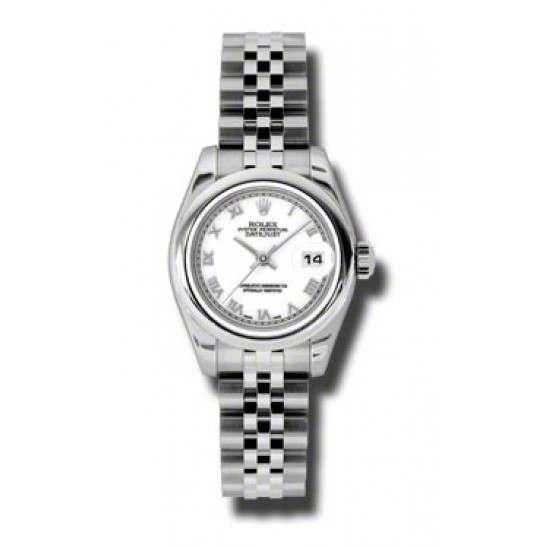 Rolex Lady-Datejust White Roman Jubilee 179160