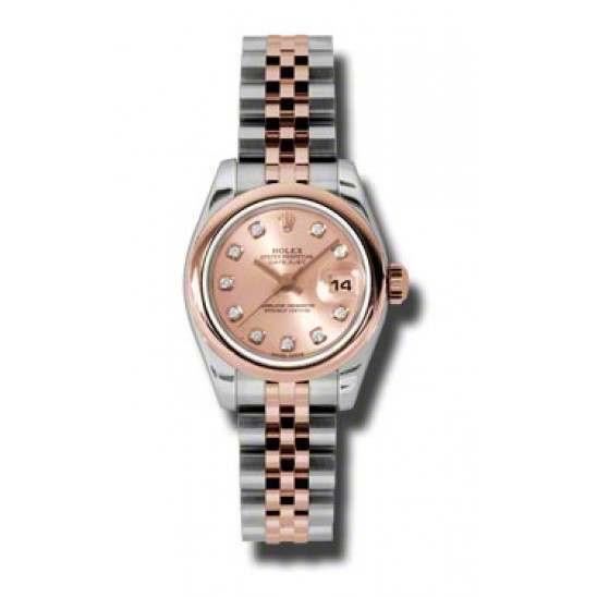 Rolex Lady-Datejust Pink/Diamond Jubilee 179161