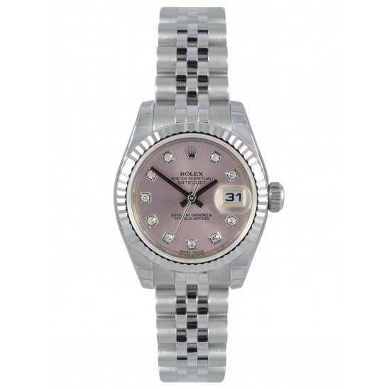 Rolex Lady-Datejust Pink/Diamond Jubilee 179174