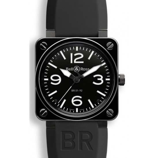 Bell & Ross BR01-92 Black Ceramic