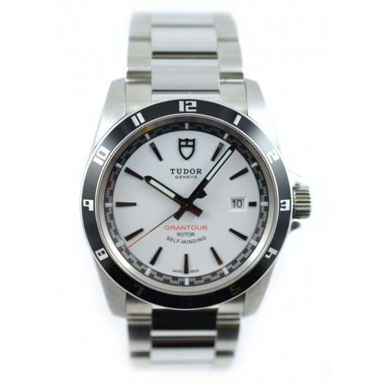 Tudor Grantour Date Watch 20500N White