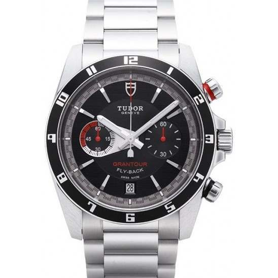 Tudor Grantour Chrono Fly-Back Black Dial 20550N