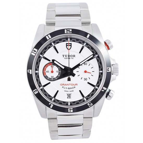Tudor Grantour Chrono Fly-Back White Dial 20550N