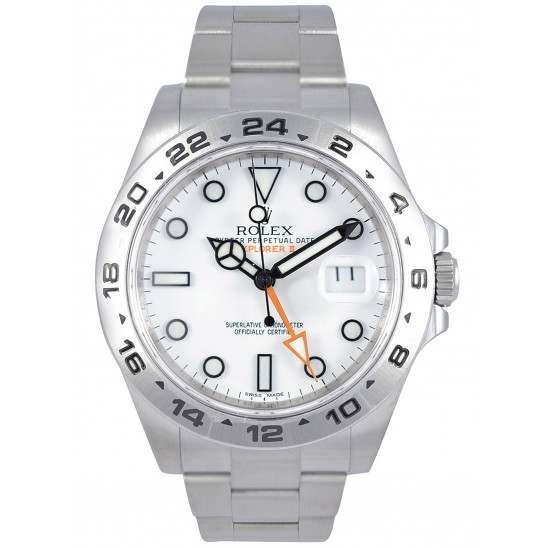 Rolex Explorer II White Dial 216570