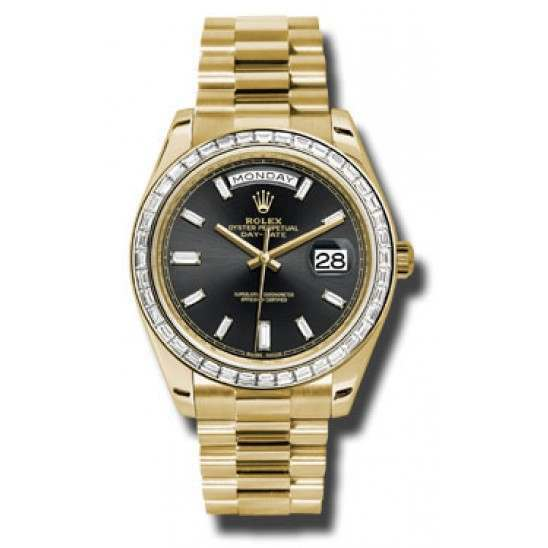 Rolex Day Date 18K Yellow Gold 228398TBR Basel 2015