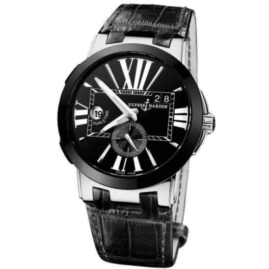 Ulysee Nardin Executive Dual Time 43mm 243-00/42