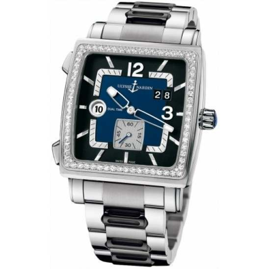Ulysee Nardin Quadrato Dual Time 243-92B-7M/632