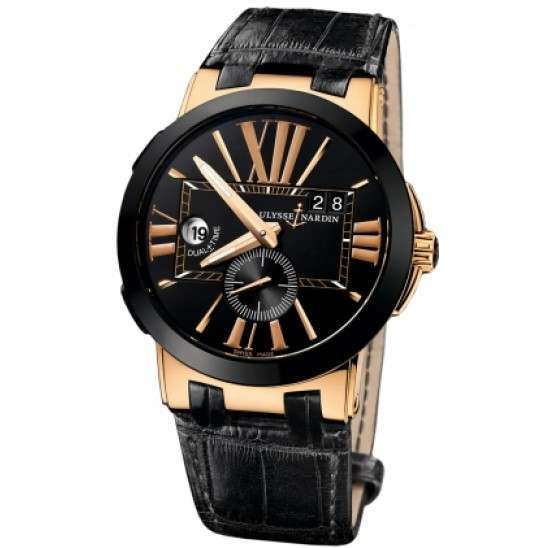 Ulysee Nardin Executive Dual Time 43mm 246-00/42