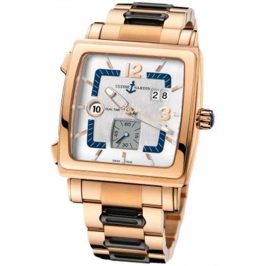 Ulysee Nardin Quadrato Dual Time 246-92-8M/600