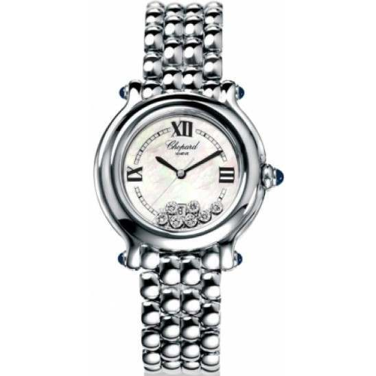 Chopard Happy Sport Classic Round 7 Floating Diamonds 278236-3016