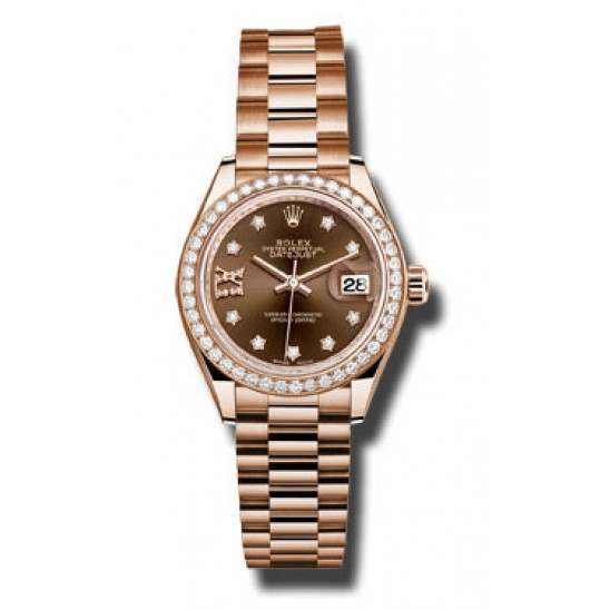 Rolex Lady Datejust 28 Everose gold 279135RBR