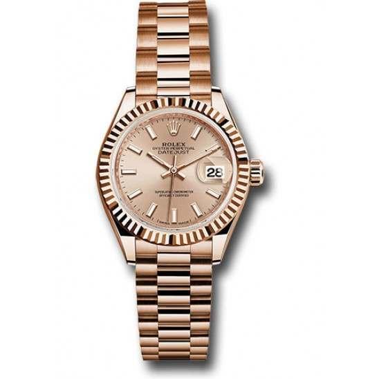 Rolex Lady Datejust 28 Everose gold 279175 Basel 2015