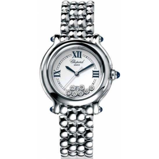 Chopard Happy Sport Classic Round 7 Floating Diamonds 278236-3005