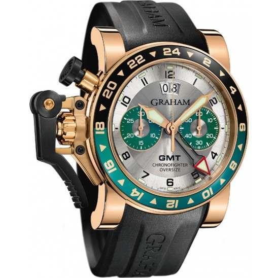 Graham Chronofighter Oversize GMT 2OVGR.S06A