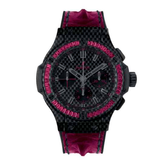 Hublot Big Bang Carbon Bezel Baguette Rubies 301.QX.1730.HR.1902