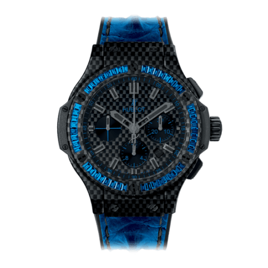 Hublot Big Bang Carbon Bezel Baguette 44mm 301.QX.1790.HR.1901