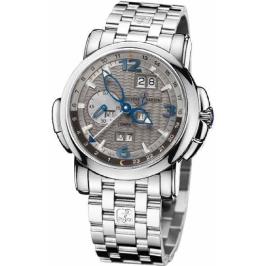 Ulysee Nardin GMT +/- Perpetual 42mm 320-60-8/69