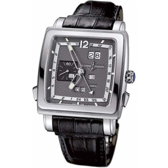Ulysee Nardin Quadrato Dual Time Perpetual 320-90/69