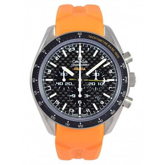 Omega Speedmaster HB-SIA Co-Axial GMT Chronograph 321.92.44.52.01.003