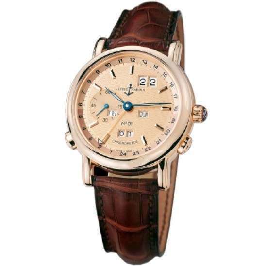 Ulysee Nardin GMT +/- Perpetual 40mm 322-88
