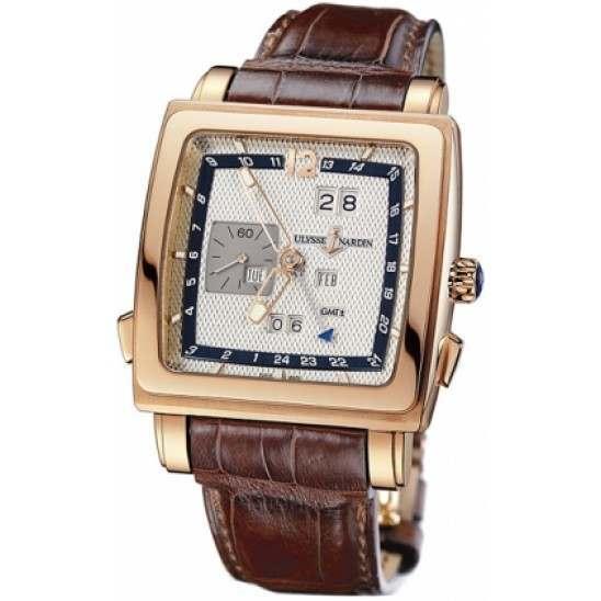 Ulysee Nardin Quadrato Dual Time Perpetual 326-90/61