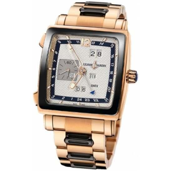 Ulysee Nardin Quadrato Dual Time Perpetual 326-90CER-8M/61