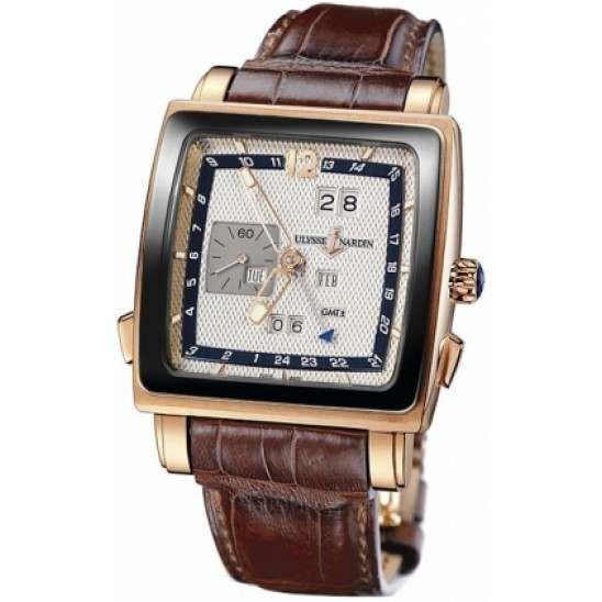 Ulysee Nardin Quadrato Dual Time Perpetual 326-90CER/61