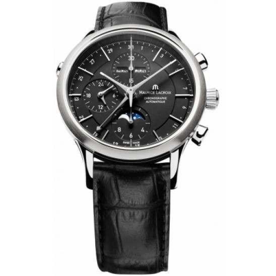 Maurice Lacroix Chronograph Phase de Lune Automatic LC6078-SS001-33E