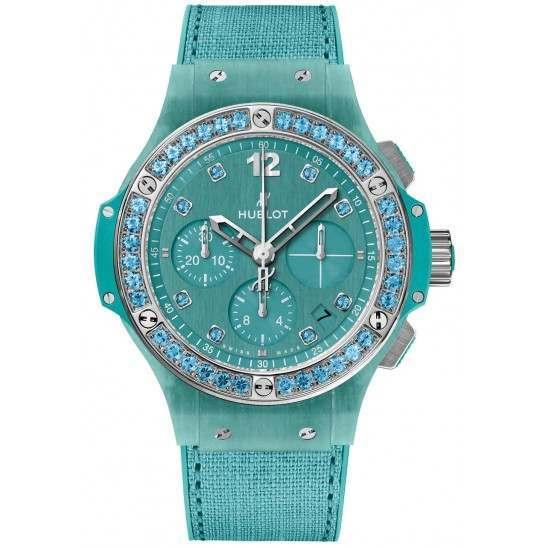 Hublot Big Bang Tutti Frutti Linen Turquoise 341.XL.2770.NR.1237