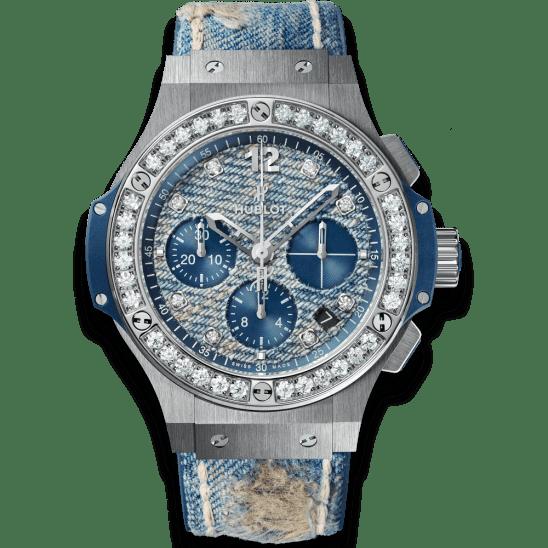 Hublot Jeans Steel Diamonds 341.SL.2770.NR.1204.JEANS