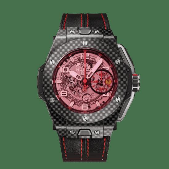 Hublot Big Bang Ferrari Carbon Red Magic 45mm 401.QX.0123.VR