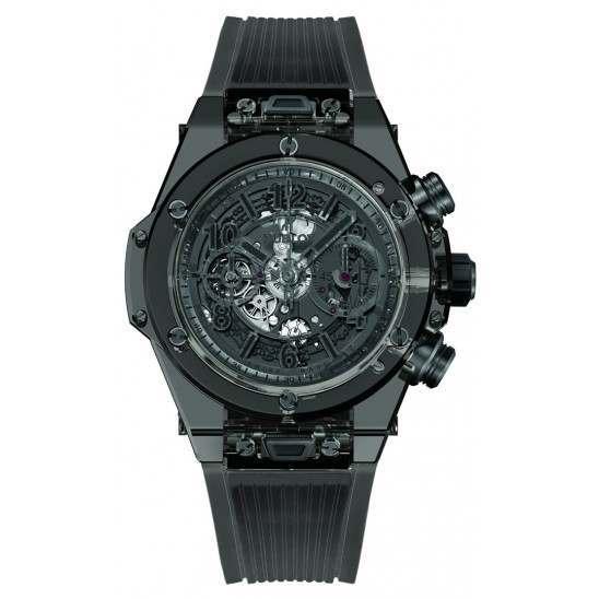 Hublot Big Bang Unico Sapphire All Black 45mm 411.JB.4901.RT