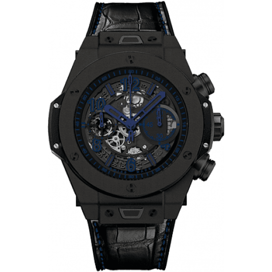 Hublot Unico All Black Blue 411.CI.1190.LR.ABB14