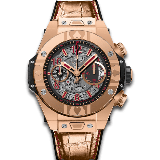 Hublot Unico World Poker Tour King Gold 411.OX.1180.LR.WPT15