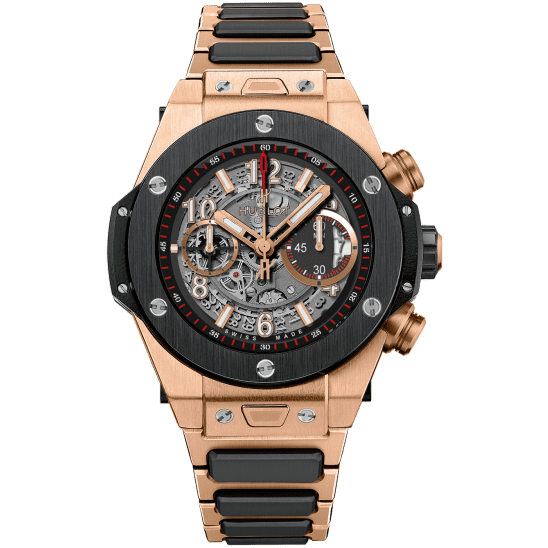 Hublot Unico King Gold Ceramic Bracelet 411.OM.1180.OM