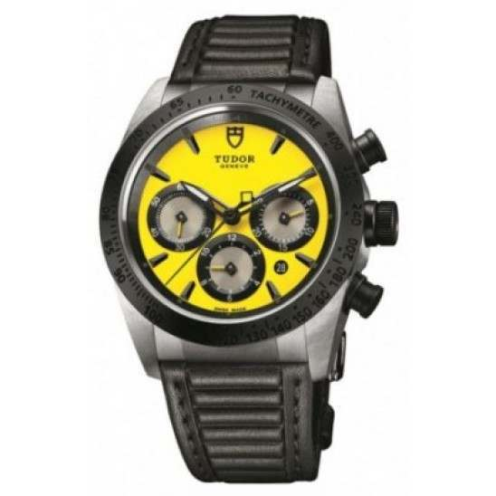 Tudor Fastrider Chrono Automatic Yellow/Leather 42010N