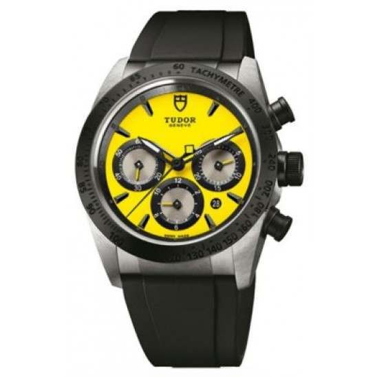Tudor Fastrider Chrono Automatic Yellow/Rubber 42010N