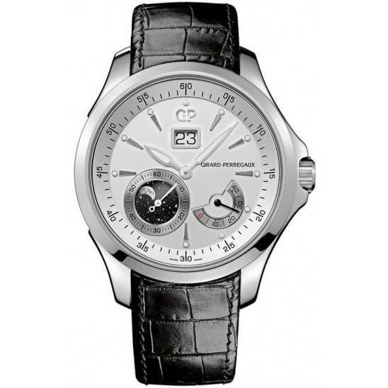 Girard Perregaux Traveller Large Date, Moonphase 49650-11-131-BB6A