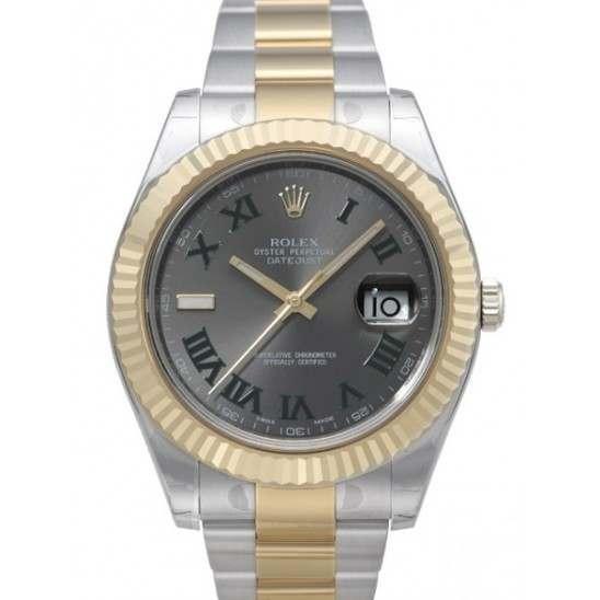 Rolex DatJust II Slate 116333