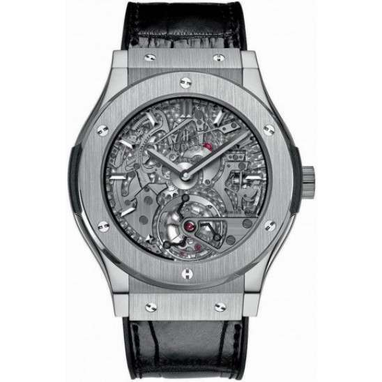 Hublot Tourbillon Cathedral Minute Repeater Titanium 504.NX.0170.LR