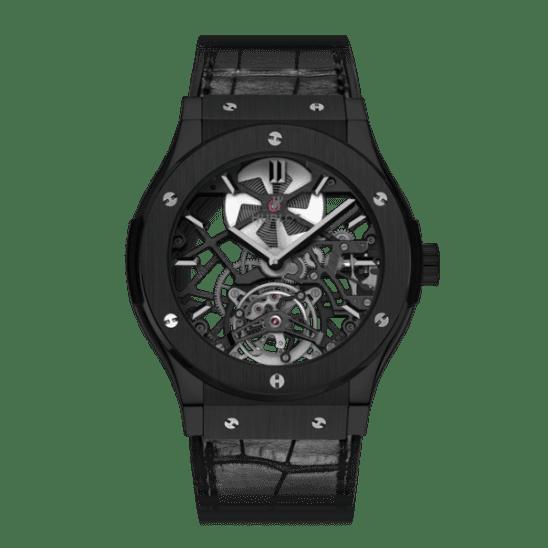 Hublot Classic Fusion Skeleton Tourbillon All Black 505.CM.0140.LR