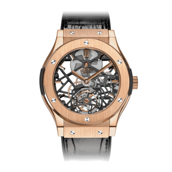 Hublot Classic Fusion Skeleton Tourbillon King Gold 505.OX.0180.LR